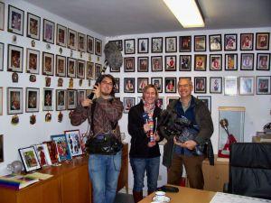 Der Besuch des WDR-Kamerateams im FEuKa-Archiv im Jahre 2011